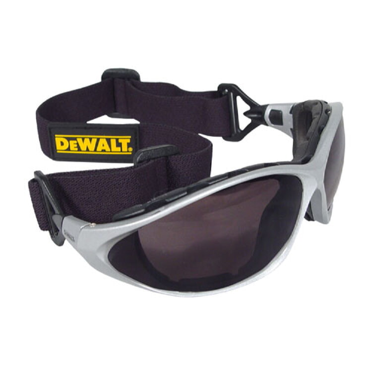 DeWALT® DPG95-2D Framework Safety Glass - Smoke Lenses