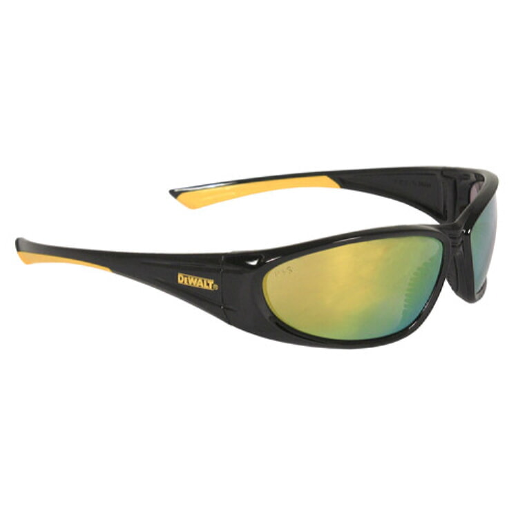 DeWALT® DPG98-YD Gable Safety Glass  Yellow Mirror Lenses
