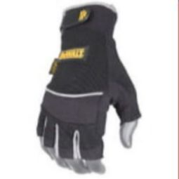 DEWALT DPG230 Technicians Fingerless Synthetic Leather Glove