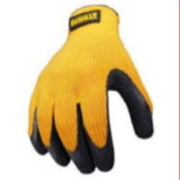 DEWALT DPG70 Textured Rubber Coated Grip Glove