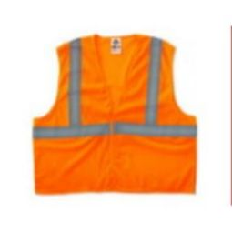 Ergodyne 8205HL Economy Class 2  Safety Vest - Orange