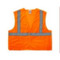 Ergodyne 8215BA Economy Class 2  Breakaway Vest - Orange