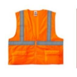 Ergodyne GloWear 8225Z Class 2 Standard Vest - Orange