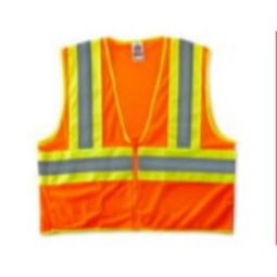 Ergodyne 8229Z  Economy Class 2 Two-Tone Safety Vest -Orange