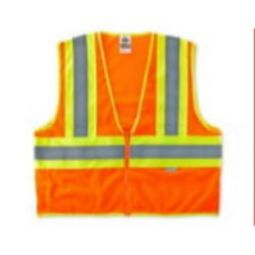 Ergodyne 8230Z Class 2 Two-Tone Safety Vest - Orange