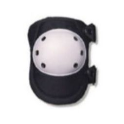 Ergodyne ProFlex 300 Rounded White Cap Knee Pad - Buckle