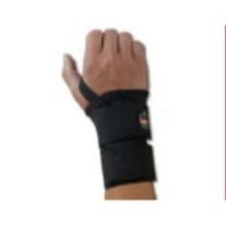 Ergodyne ProFlex 4010 Double Strap Wrist Support - Black