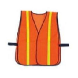 Ergodyne GloWear 8040HL Non-Certified Hi-Gloss Vest - Orange