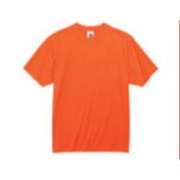 Ergodyne GloWear 8089 Non-Certified T-Shirt - Hi Viz Orange