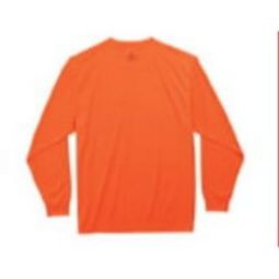 Ergodyne 8091 Non-Rated Long Sleeve Shirt - Hi Viz Orange