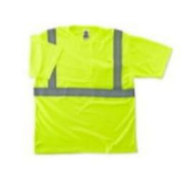 Ergodyne 8289 Class-2 Hi Viz Safety T-Shirt -Green