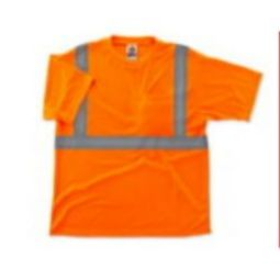 Ergodyne 8289 Class-2 Hi Viz T-Shirt -Orange