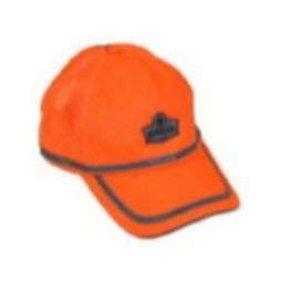 Ergodyne GloWear 8930 Class Headwear Hi-Vis Baseball Cap - Orange