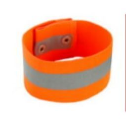 Ergodyne GloWear 8001 Arm/Leg Band Button Snap - Orange