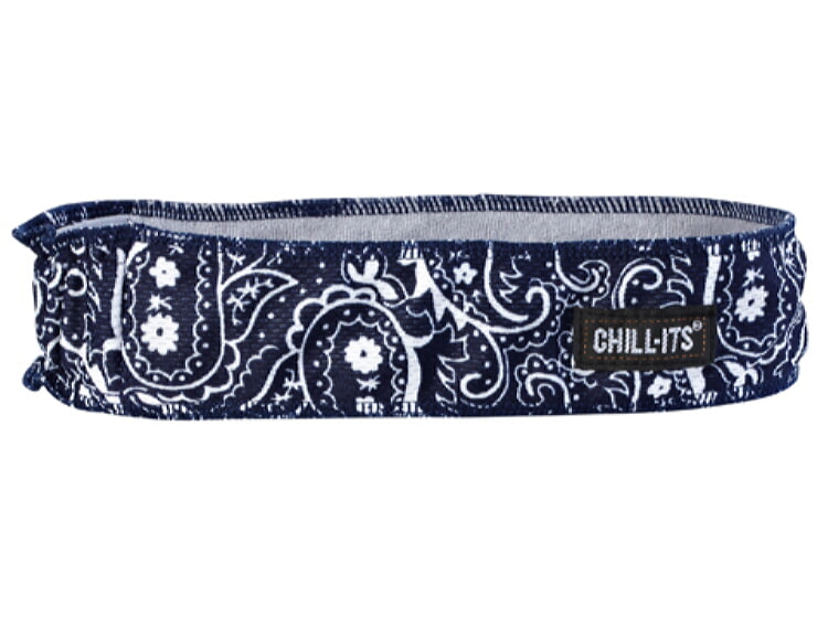 Ergodyne Chill-Its 6605 High-Performance Headband - Navy/Western