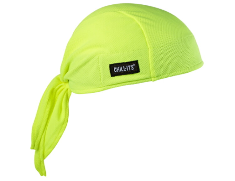 Ergodyne Chill-Its 6615 High-Performance Dew Rag - Lime