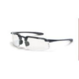 Crossfire ES4 Clear Lens, Shiny Pearl Gray Frame