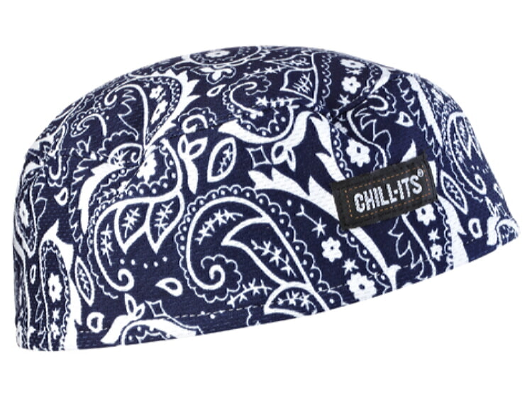 Ergodyne Chill-Its 6630 High-Performance Cap - Navy/Western