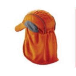 Ergodyne Chill-Its 6650 High Performance Hat w/ Neck Shade - Orange