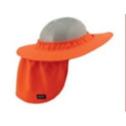 Ergodyne Chill-Its 6660 Hard Hat Brim with Shade - Orange