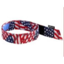 Ergodyne Chill-Its 6705CT Cooling Hook Bandana w/ Towel-Stars/Stripes