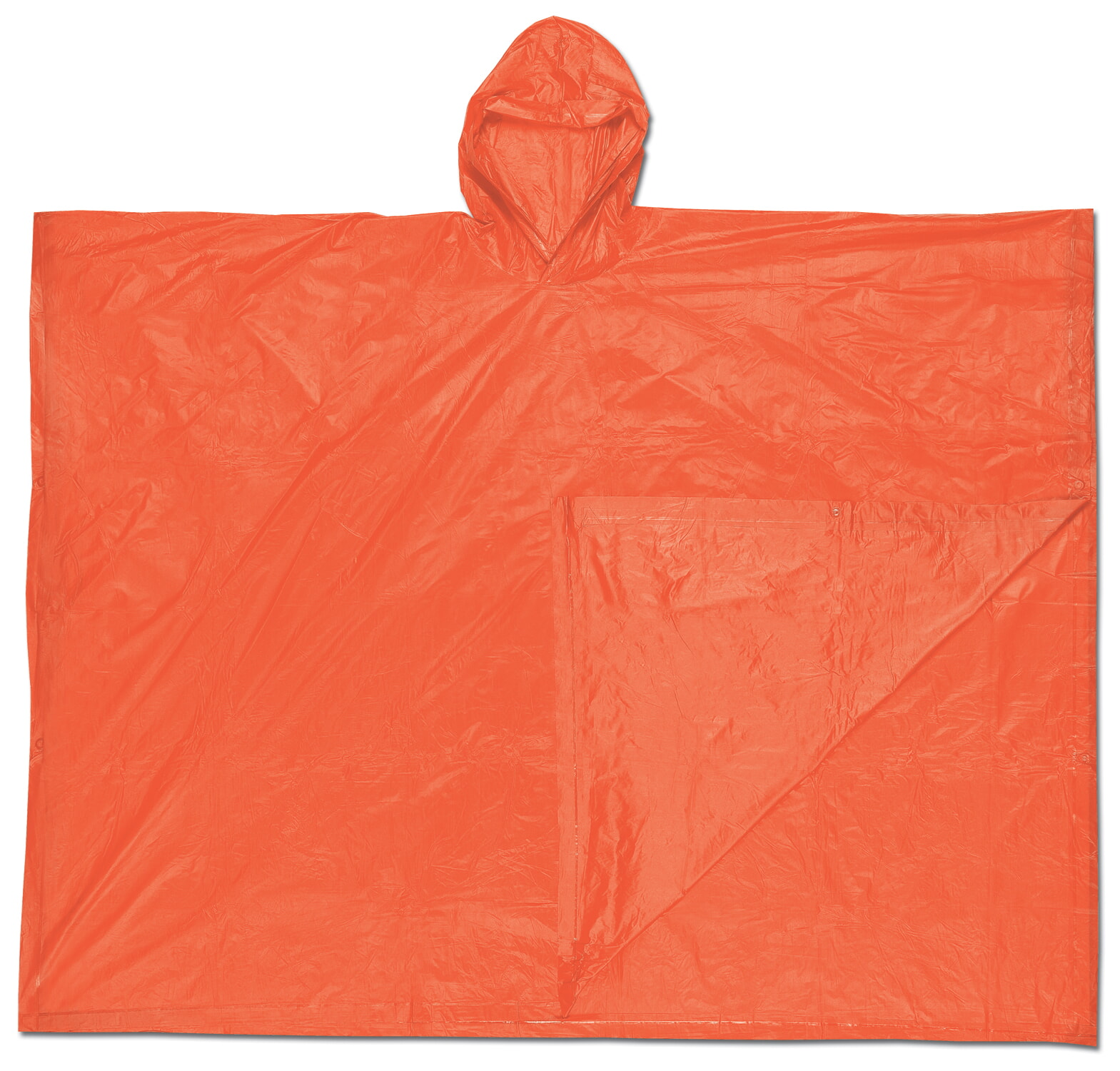 MCR River City O41 Schooner , .10mm, PVC  Disposable Poncho Red  Universal
