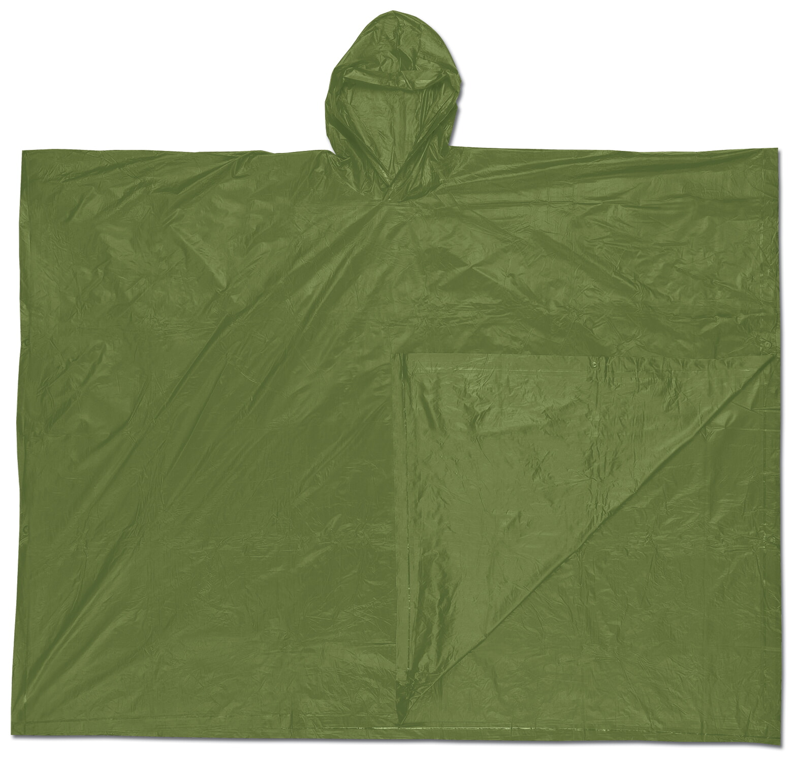 MCR River City O48 Schooner , .10mm, PVC  Disposable Poncho Green  Universal