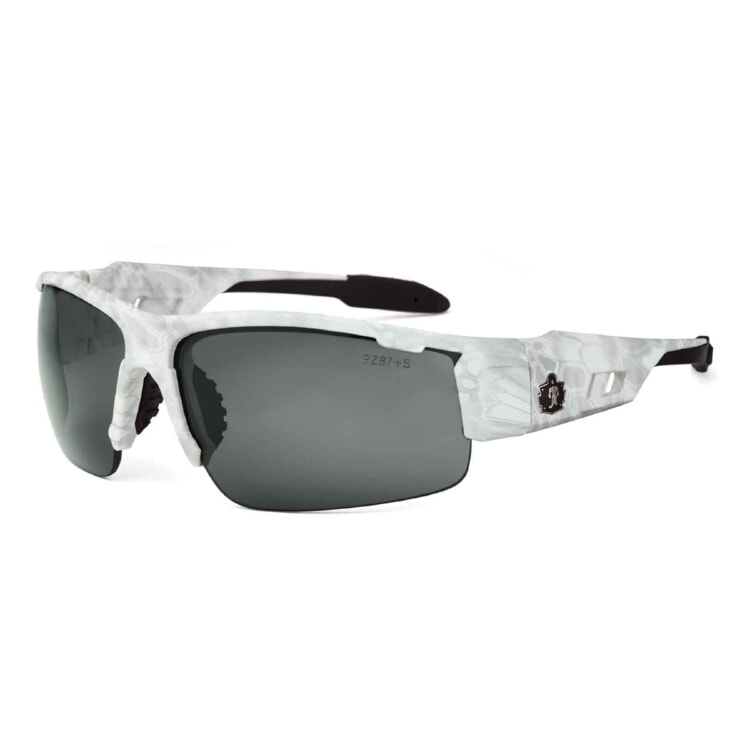 Ergodyne 52633 DAGR Skullerz® Dagr Safety Glasses - Anti-Fog Smoke Lens