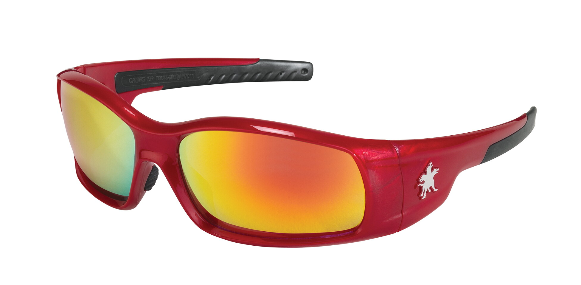 MCR Safety SR13R Swagger SR1 Red Frame, Fire Mirror