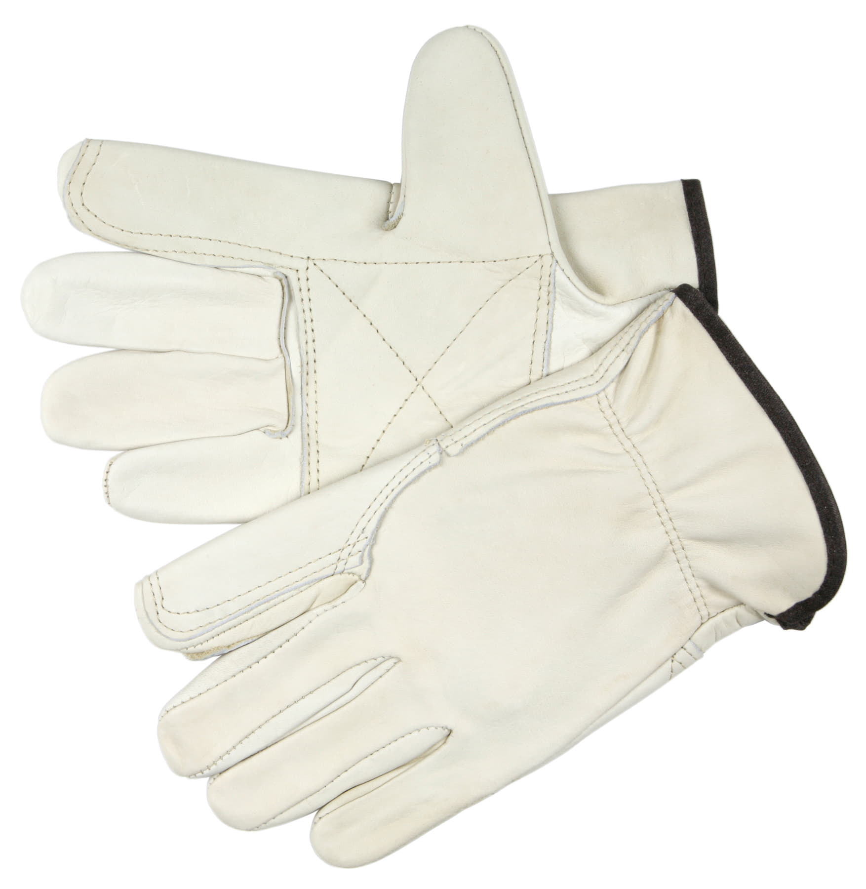 MCR Safety 32113DP Cowhide Leather with Double Palm glove