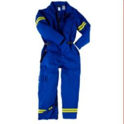 FR Extrication Coverall  Indura 9 oz Cotton FR fabric - (CAT 2) - 11.5Cal/CM2 -Neese VI9CAE