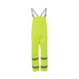 Neese 91001-13-1-LIM Air Tex High Visibility Bibs Waterproof ,Windproof and Breathable