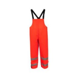 Neese 21217-12-1-LIM Hi Viz Lime Bibs Ideal for Incidental Arc Flash and Flash Fire