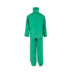 Neese 10096-55-1-GRN Economy Green Chemshield Suit Ideal For Incidental Chemical Splash And Contact Self Extinguishing