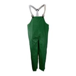 Neese 45001-13-1-GRN Green Rain Bibs with High abrasion resistance Self Extinguishing