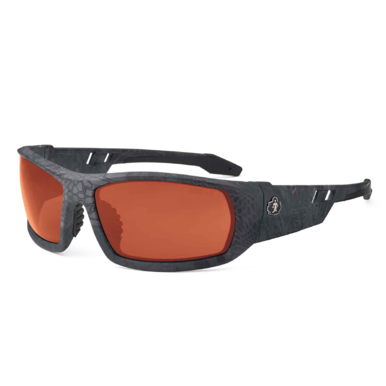 Ergodyne 50521 ODIN Skullerz® Odin Safety Glasses - Polarized Copper Lens