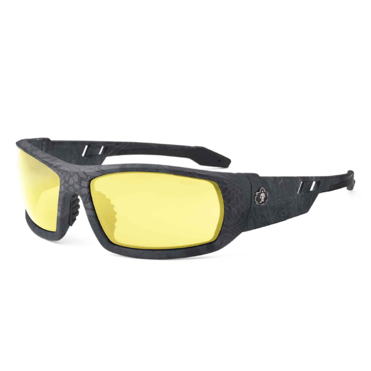 Ergodyne 50550 ODIN Skullerz® Odin Safety Glasses - Yellow Lens