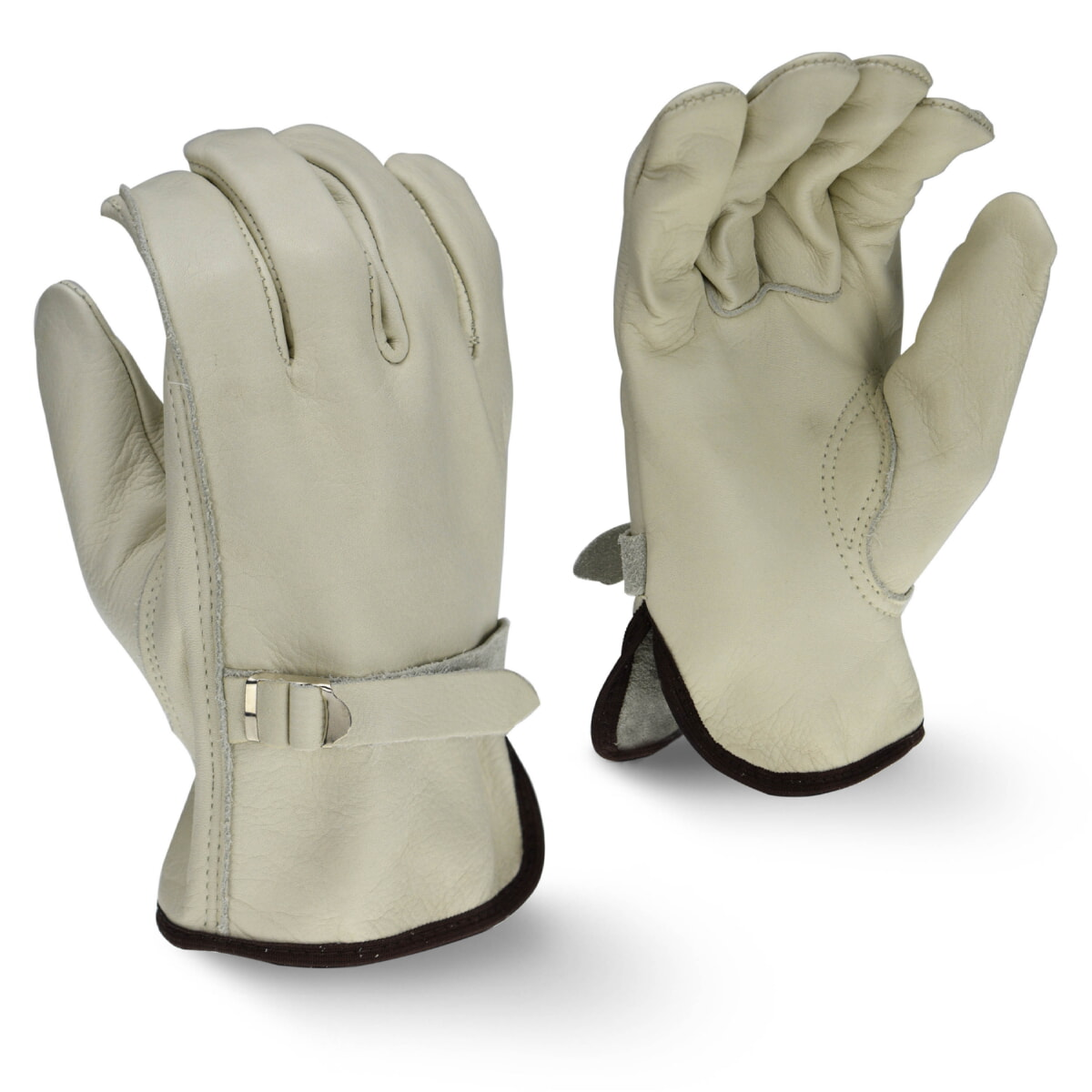 Radians RWG4221 Standard Grain Cowhide Leather Driver Gloves