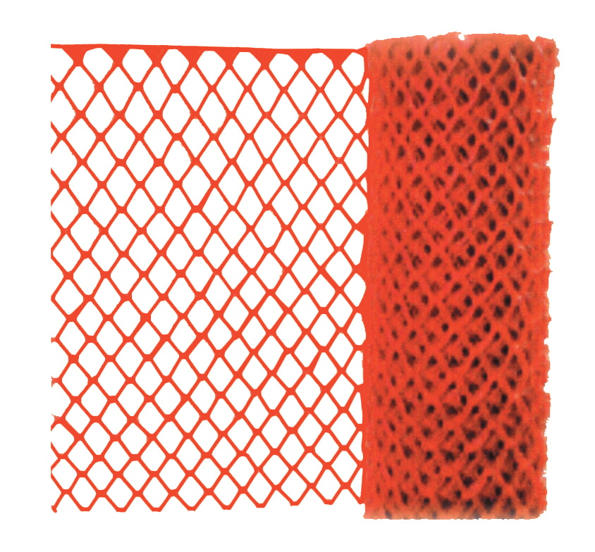 MCR River City SF101D 24 Lb. Polypropylene Safety Fencing,    Universal