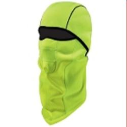 Ergodyne  N-Ferno® 6823 Wind-proof Hinged Balaclava - Hi-Viz Lime