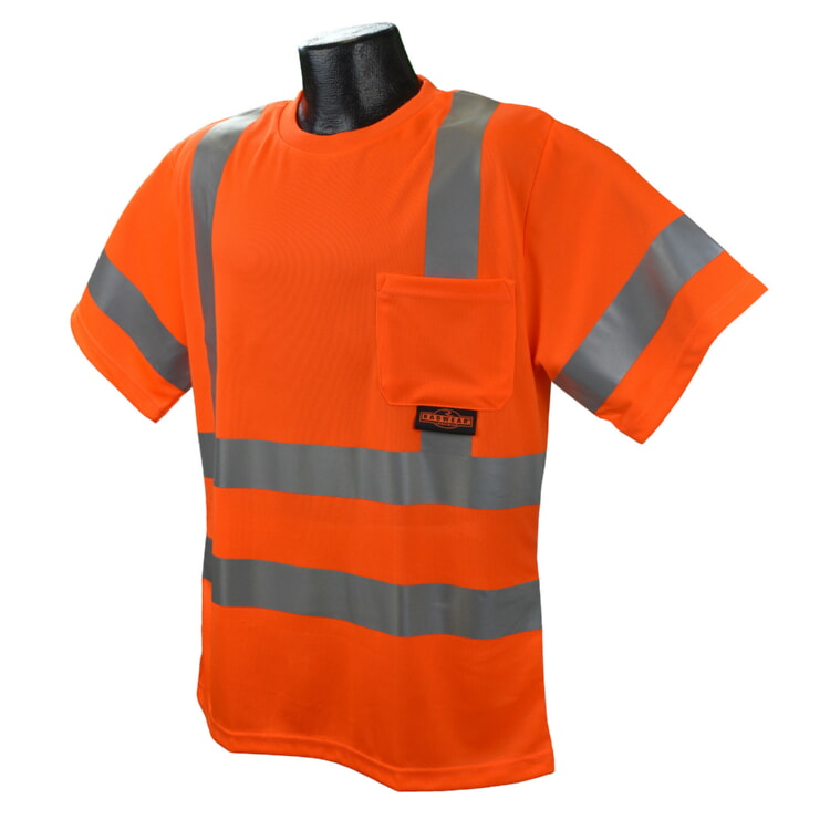 Radians ST11-3POS Class 3 SS T-shirt Birdseye Orange