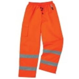 Ergodyne 8925-ORANGE Cold and waterproof  Class E Thermal Pants - Orange