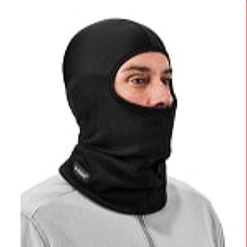Ergodyne 682 Black Balaclava with Spandex Top