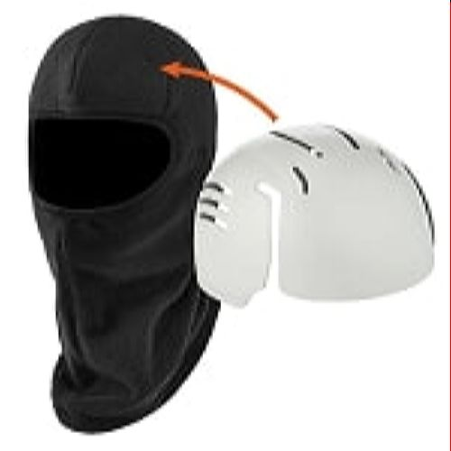 Ergodyne 6893ZI  Black Balaclava with Bump Cap Insert