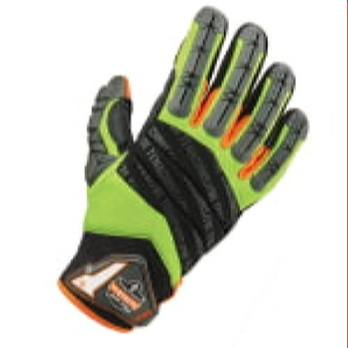 Ergodyne 924 ProFlex Hybrid Dorsal Impact-Reducing Gloves