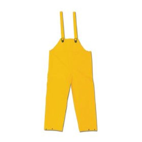 MCR Safety 200BF Classic, .35mm, PVC/Poly, Bib Overall, Bib Pants with No Fly Yellow 1 Pc Bib