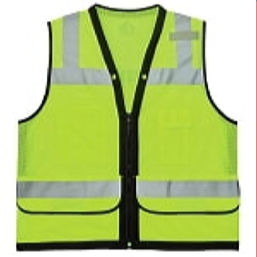 Ergodyne GloWear® 8253HDZ Type R Class 2 Heavy-Duty Mesh Surveyors Vest - Lime