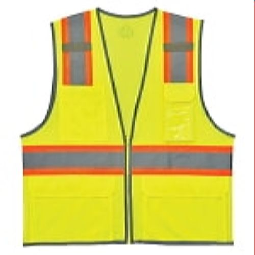 Ergodyne 8246Z-LIME Two-Tone  Class 2 Safety Vest-Green