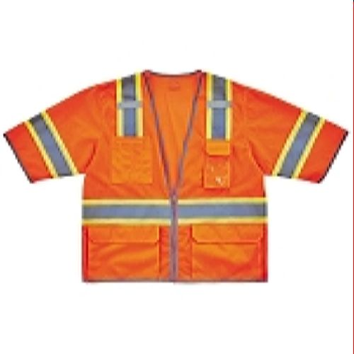 Ergodyne GloWear 8346Z Two-Tone Hi-Vis Class 3 Surveyor Vest - Orange