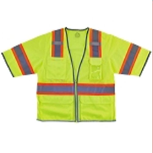 Ergodyne GloWear 8346Z Two-Tone Hi-Vis Class 3 Surveyor Vest - Lime